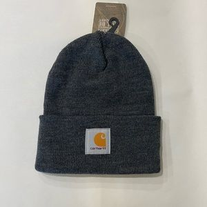 Cathartt Full Rib Knit Rolled Brim Beanie Hat